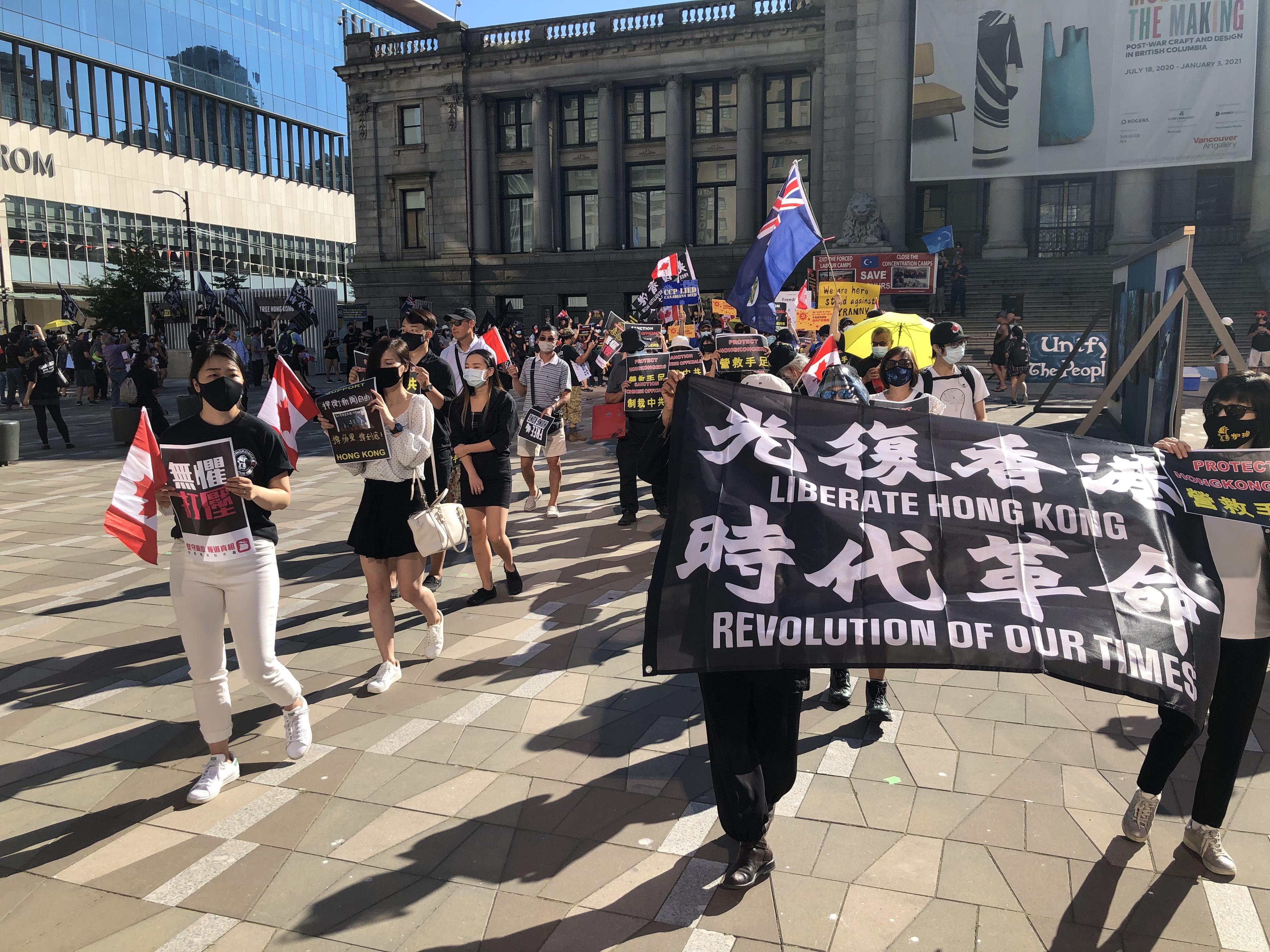 一位流亡加拿大的香港抗爭者:正義必勝