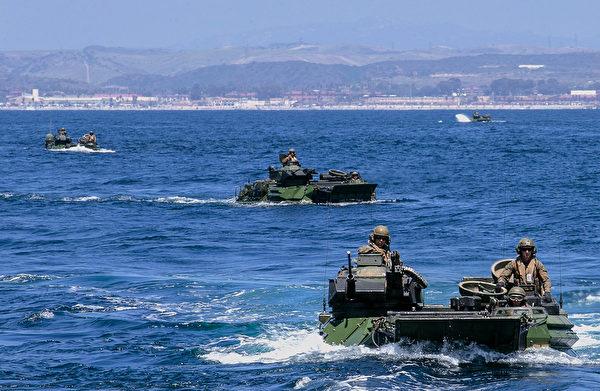 美國海軍陸戰隊兩棲陸戰車AAV事故