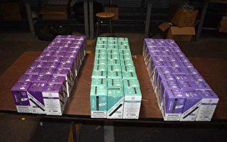 美海關查獲大批中國製電子菸 價值近45萬美元