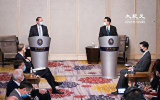 台美雙部長同台 阿扎爾:美續為台發聲