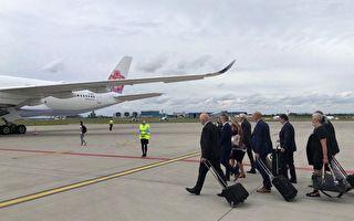 捷克参议长已搭上飞机 预计周日上午11时抵台