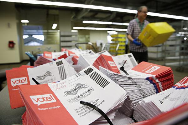 美联邦法官命令 先前无效邮寄选票须重算
