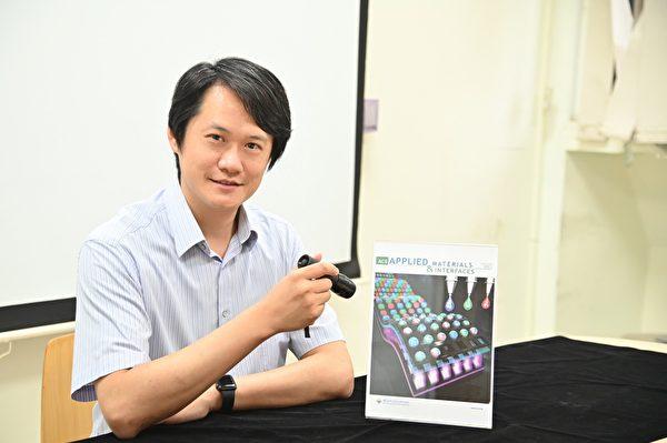 清華大學材料系教授陳學仕研發量子點噴墨列印技術取得突破,登上國際期刊。(清華大學提供)
