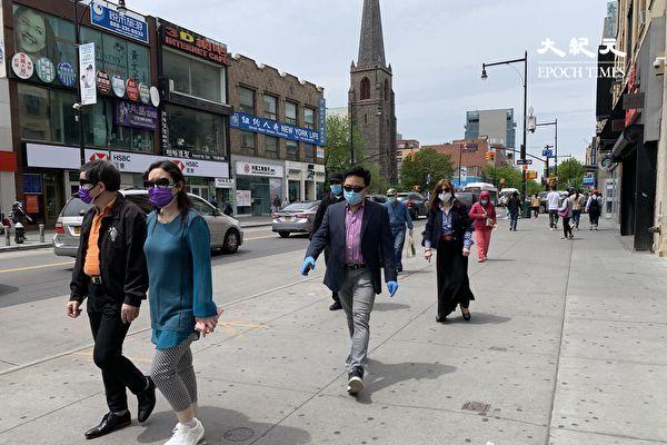 纽时:法拉盛99%的路人戴口罩
