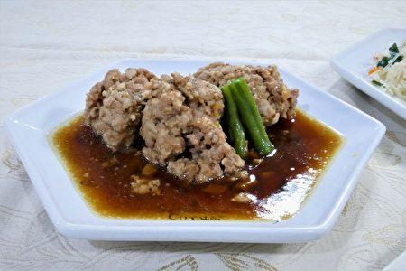 清蒸醬燒肉丸