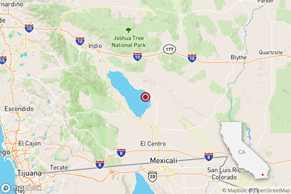 美墨邊境週一群震引關注 最大4.6級