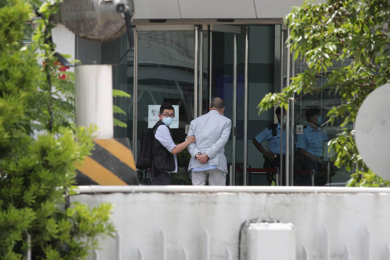 港警大動作逮捕黎智英 台政界齊譴責