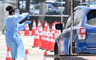 洛杉磯縣嚴峻疫情現轉機 檢測陽性率回落