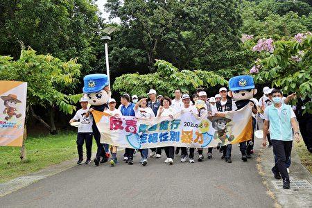 市长黄敏惠祝大家88父亲节快乐。大小朋友一起出来动一动、健康快乐走,更是欢度父亲节的首选。
