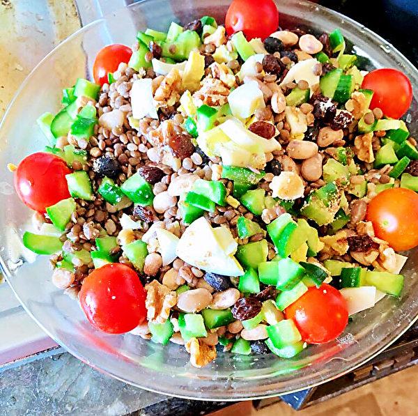 【防疫餐自己做】 十彩健康蔬食 简易美味