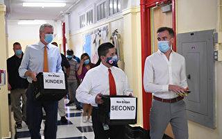 市长颁返校承诺书:确诊率大于3%将停课