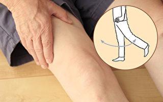 膝关节疼痛不敢动?单脚摆10下甩掉膝盖痛