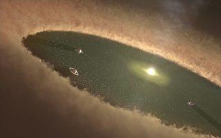 新生恒星竟有类似星系的旋臂