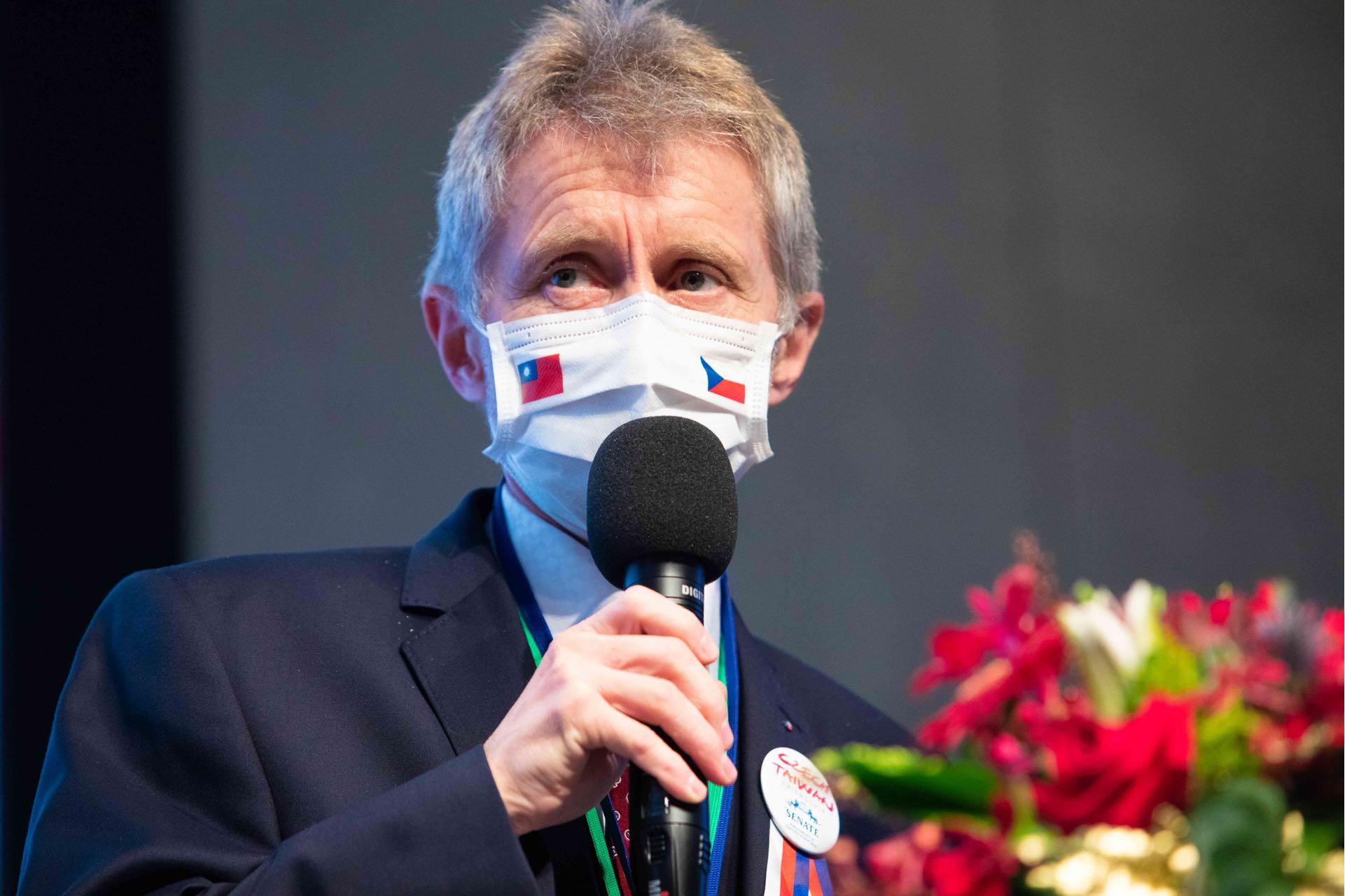 捷克參院議長已返國 促政府了解與台灣合作潛力