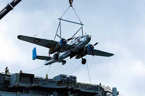 美軍艦載14架二戰軍機 赴夏威夷飛行表演