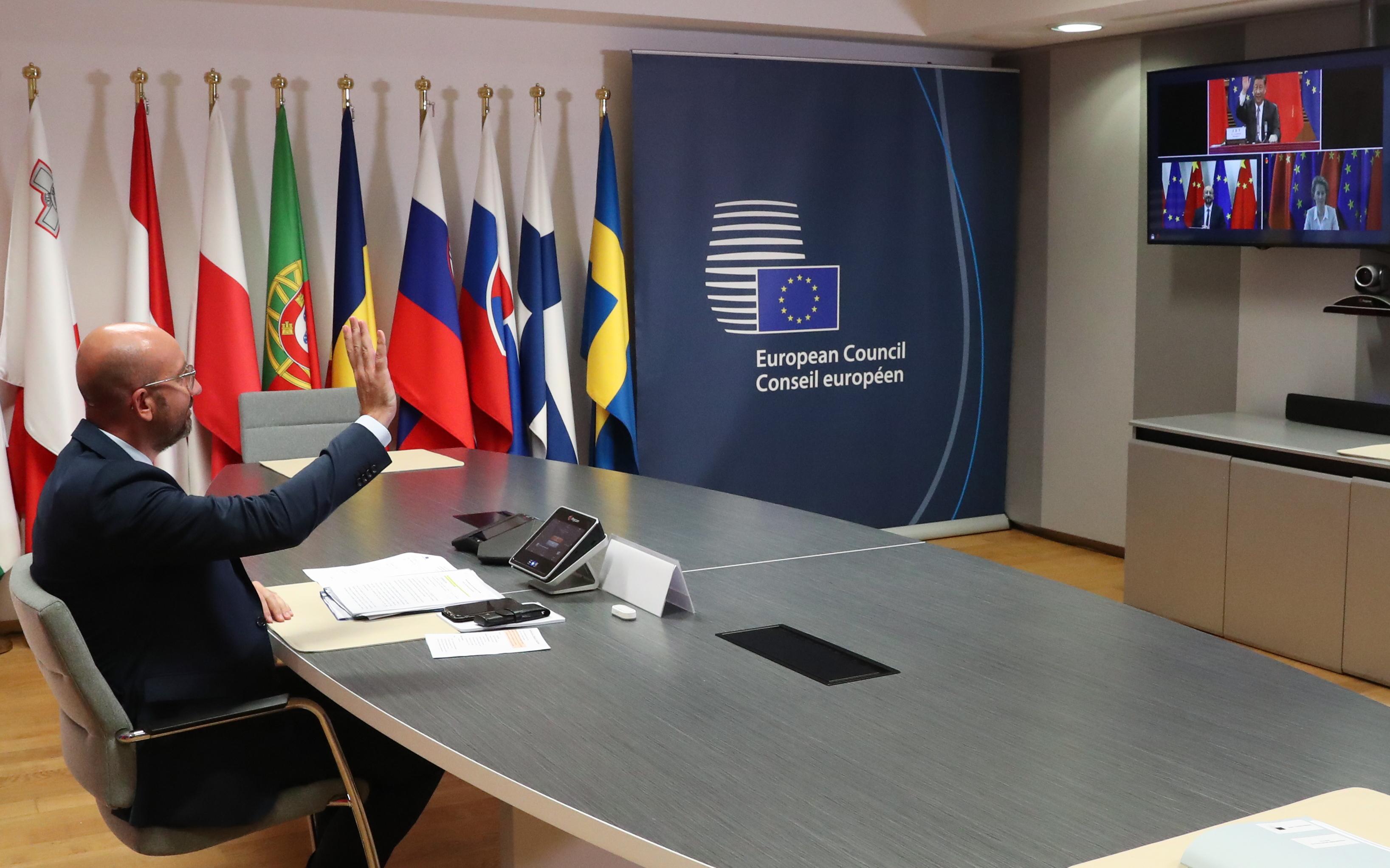 王毅訪歐敗北 習近平在歐盟峰會將遭遇啥