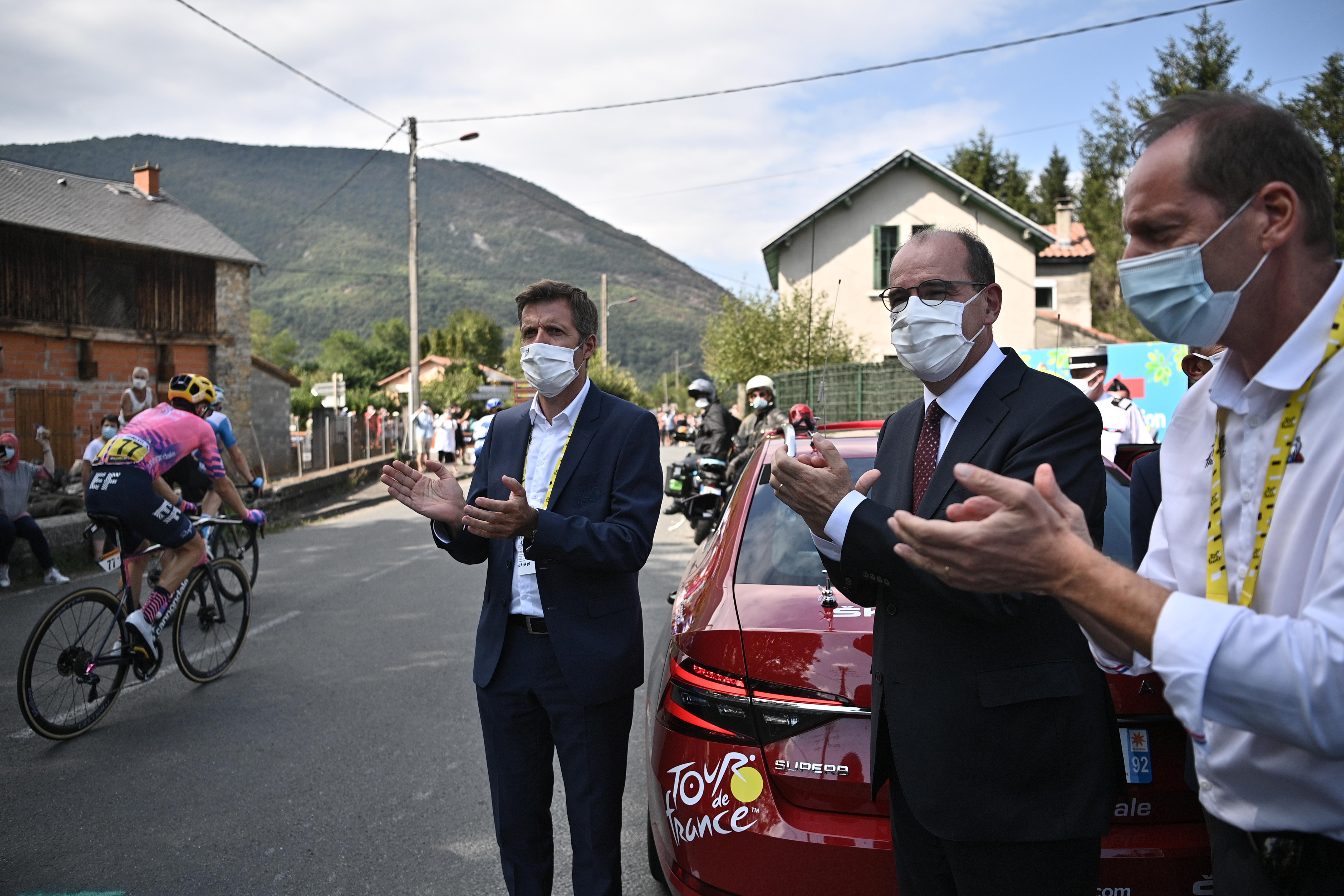 環法單車賽總監染疫 法總理接受中共病毒測試