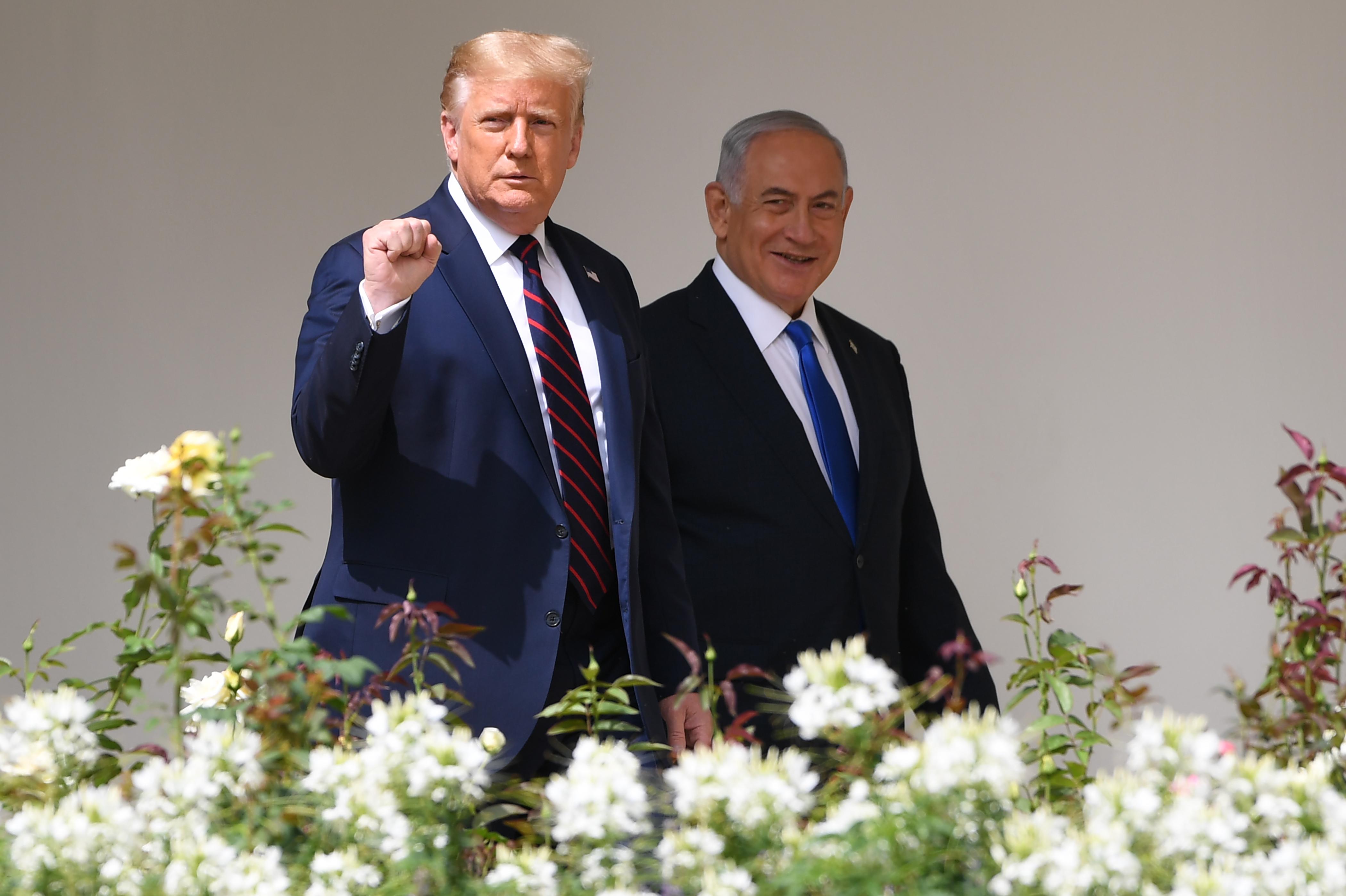 特朗普:還有五六個國家有意與以色列建交