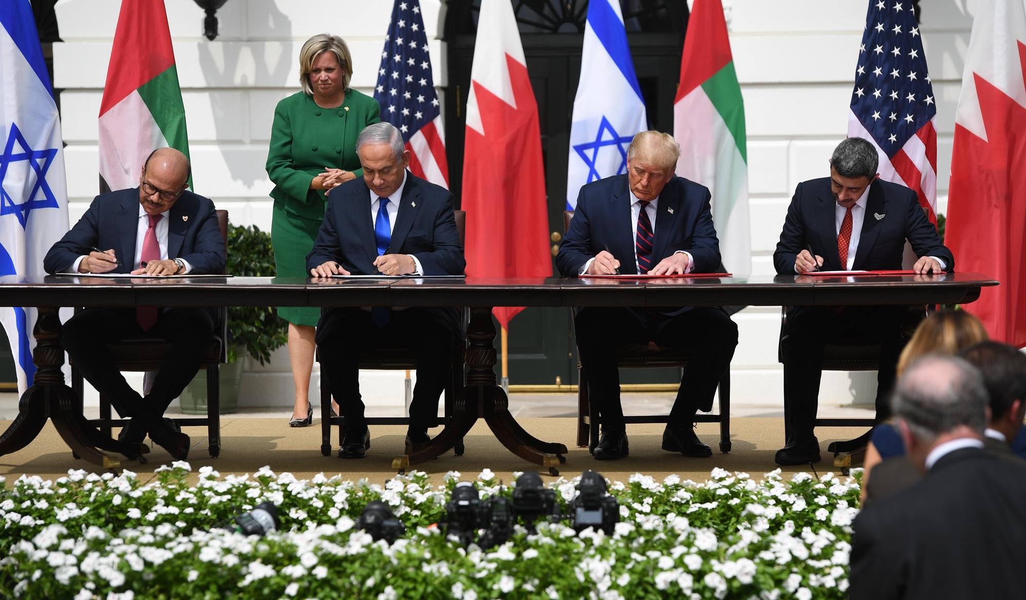 【名家專欄】為了和平 中東投特朗普一票