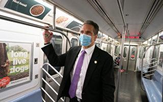 紐約搭地鐵、火車不戴口罩 將罰50美元