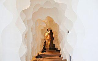 捕捉层层光影 网美流连纸纤维艺术展