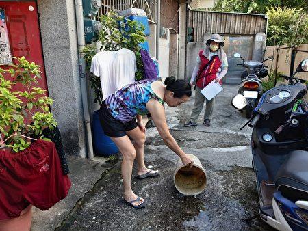 雨後一周速清除積水容器。