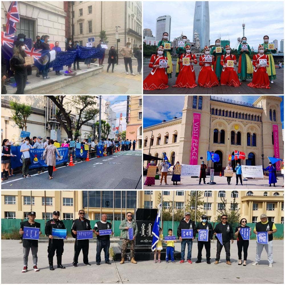 海外蒙族抗議強推漢語 席海明:中共末日瘋狂