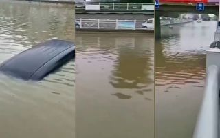 松花江現今年1號洪水 黑龍江多河流超警戒