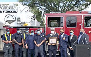 麻州紀念氣爆案2週年 死者家屬謝消防員