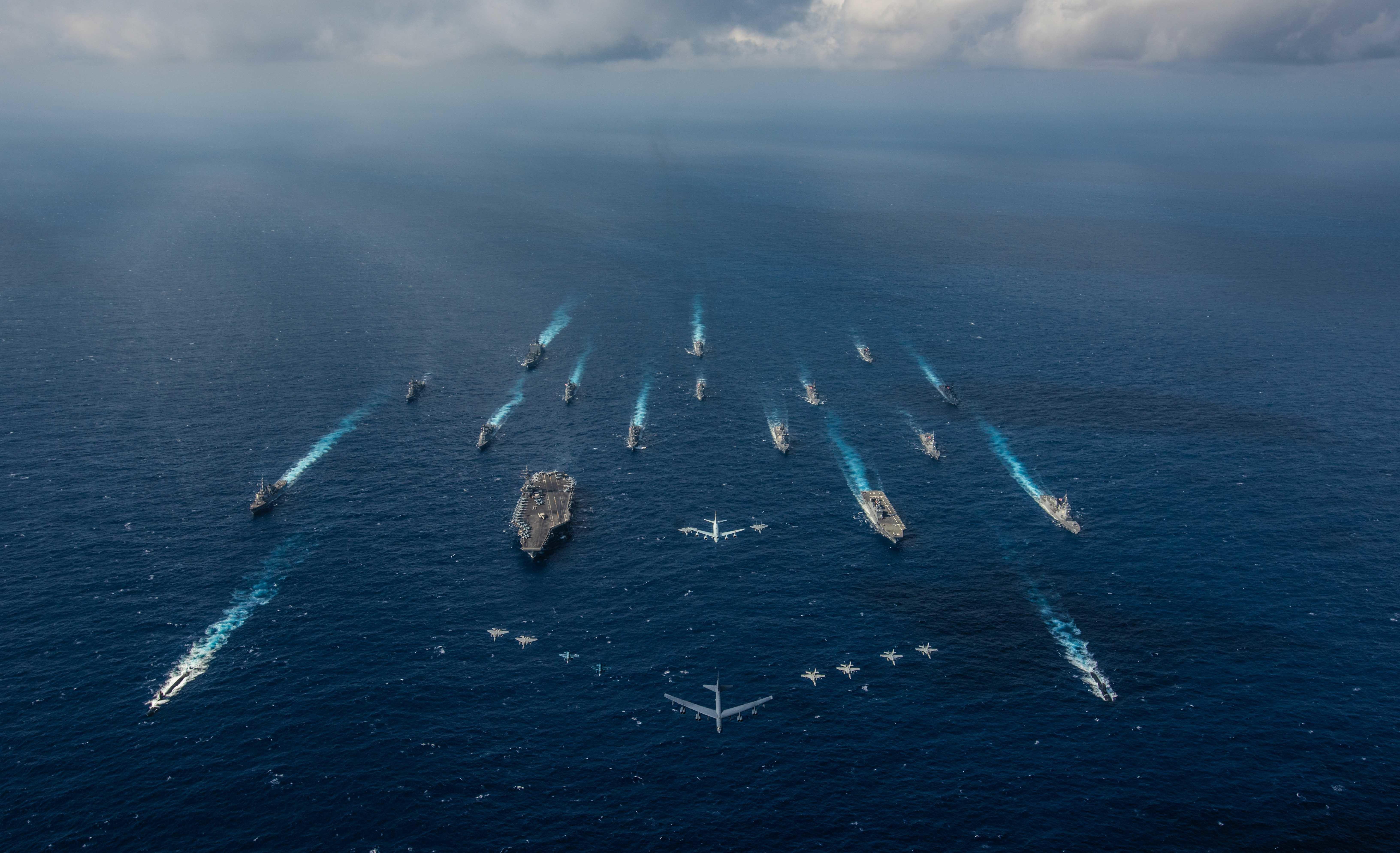 美日將在太平洋舉行「利劍」大型奪島軍演