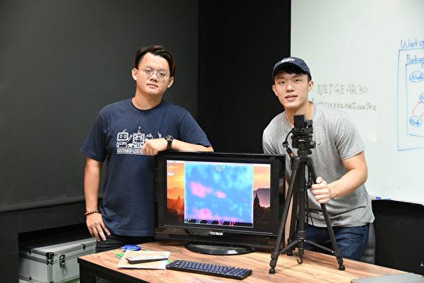 開學防疫有一套 台灣銘傳大學自製測溫儀