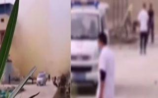 【視頻】湖北天門一化工廠爆炸 至少5死1傷