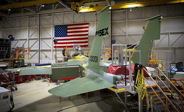 美國空軍在2020年7月13日為其第一批八架F-15EX戰鬥機授予近12億美元的合同。 (U.S. Air Force courtesy photo)