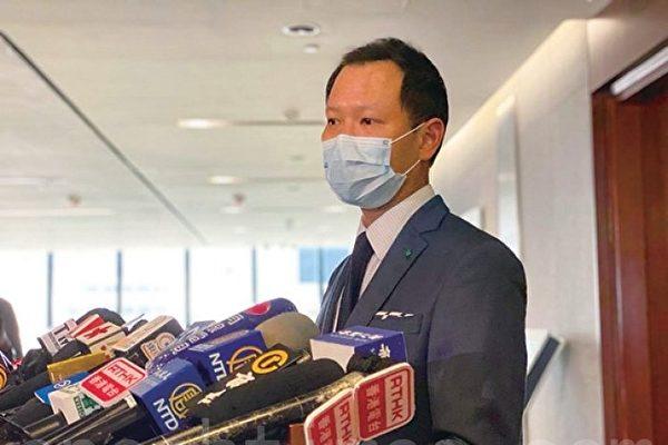 郭荣铿反驳香港无三权分立言论