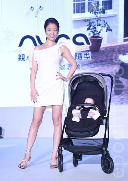 林心如出席嬰童精品品牌Nuna記者會