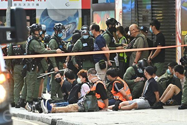 港警鎮壓9.6遊行 被指採用中共軍方戰術