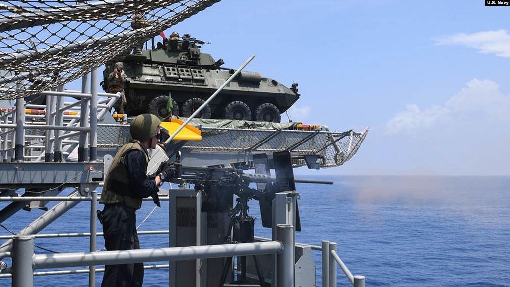 南中國海問題 美國對北京採取更強硬制裁立場