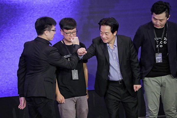 中華民國副總統賴清德9月11日出席「台灣黑客年會HITCON 2020」時表示,「資安就是國安」,盼與黑客在資安領域合作,共同維護台灣資訊安全及推動資訊產業。(總統府提供)