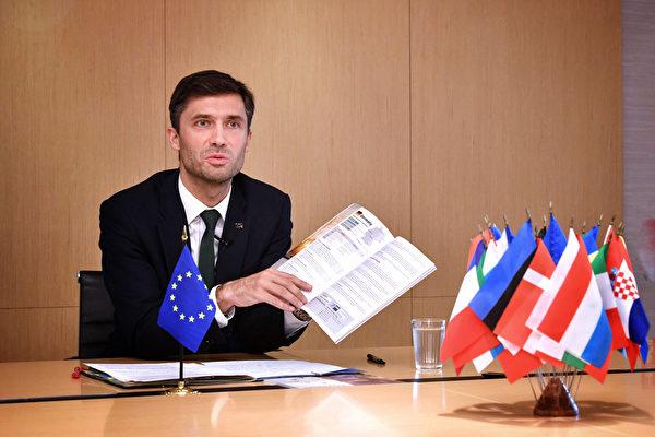 歐盟駐台代表:印太戰略與台合作機會處處皆是