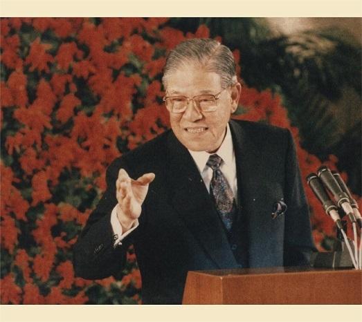 1991年4月30日中華民國前總統李登輝宣佈動員戡亂時期於5月1日終止。(總統府提供)