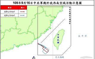 中共反潛軍機又擾台 台空軍緊急廣播驅離