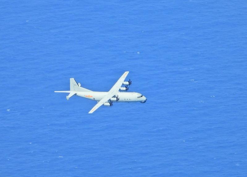 中共軍機再擾台 7天內5度入侵台防空識別區