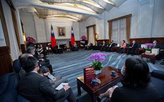 蔡英文:让台湾半导体业续做全球业界领头羊