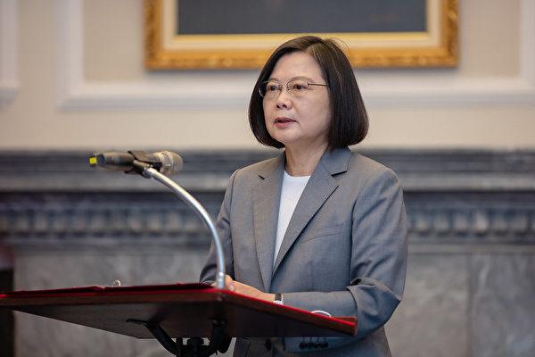 蔡英文:台灣半導體業續做全球業界領頭羊