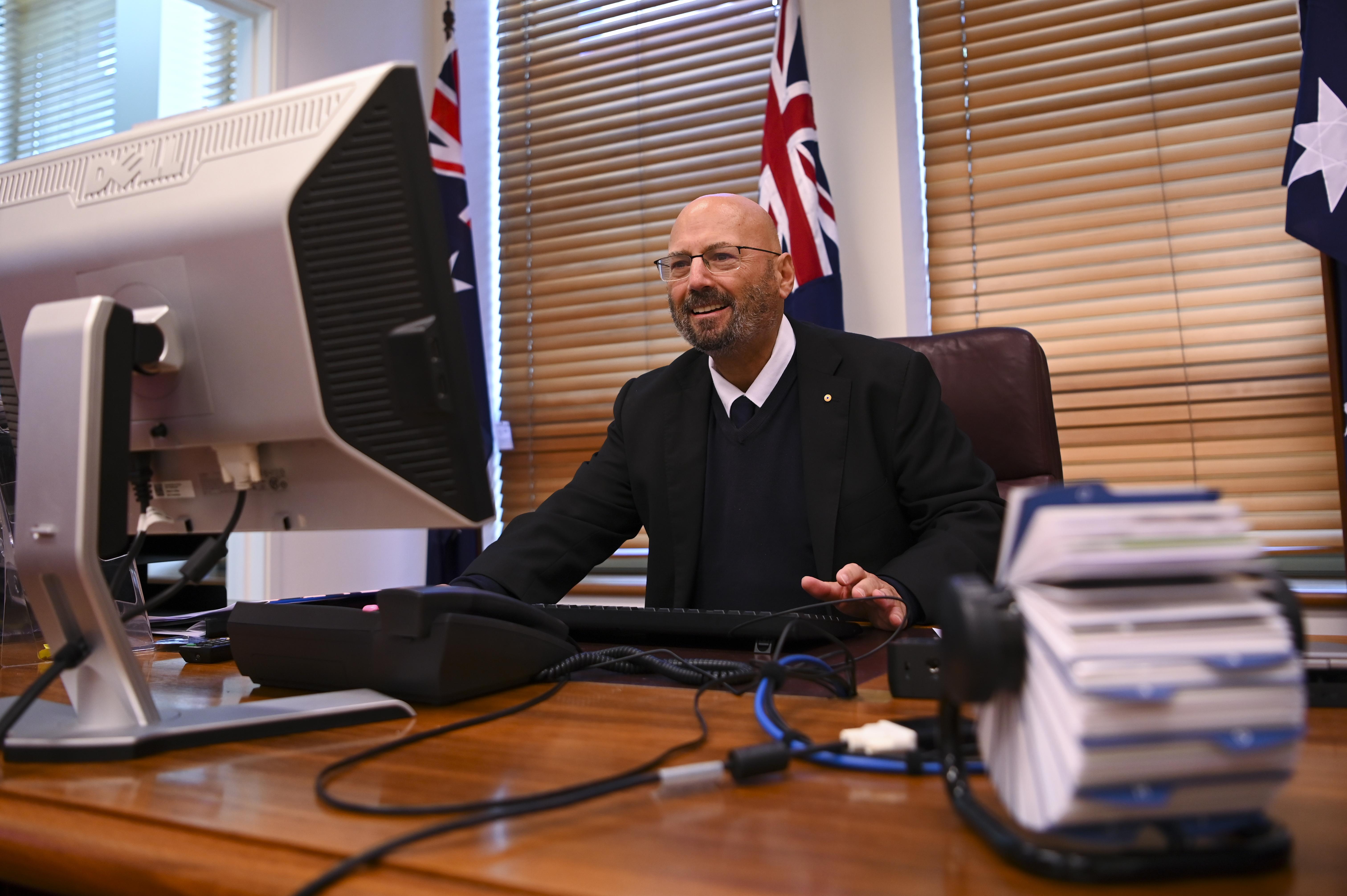澳駐美大使:為堅守原則 只能與中共對抗
