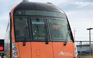 中國造新列車抵達悉尼 最新沃勒塔亮相運行