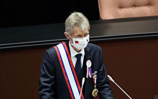 捷克參院議長台立院發表演說 維特齊:十分榮幸