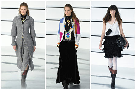 Chanel於2020年巴黎時裝周。(Pascal Le Segretain/Getty Images)