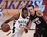 NBA季后赛:雄鹿加时险胜热火 避被横扫