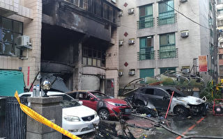 東海商圈氣爆釀4死1傷 消防局初步研判瓦斯爆炸